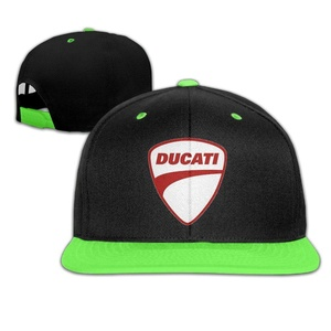 EVALY Youth Ducati Red Logo Mesh Basketball Caps Hat