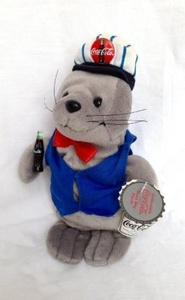 Coca Cola Seal in Delivery Outfit by Coca-Cola