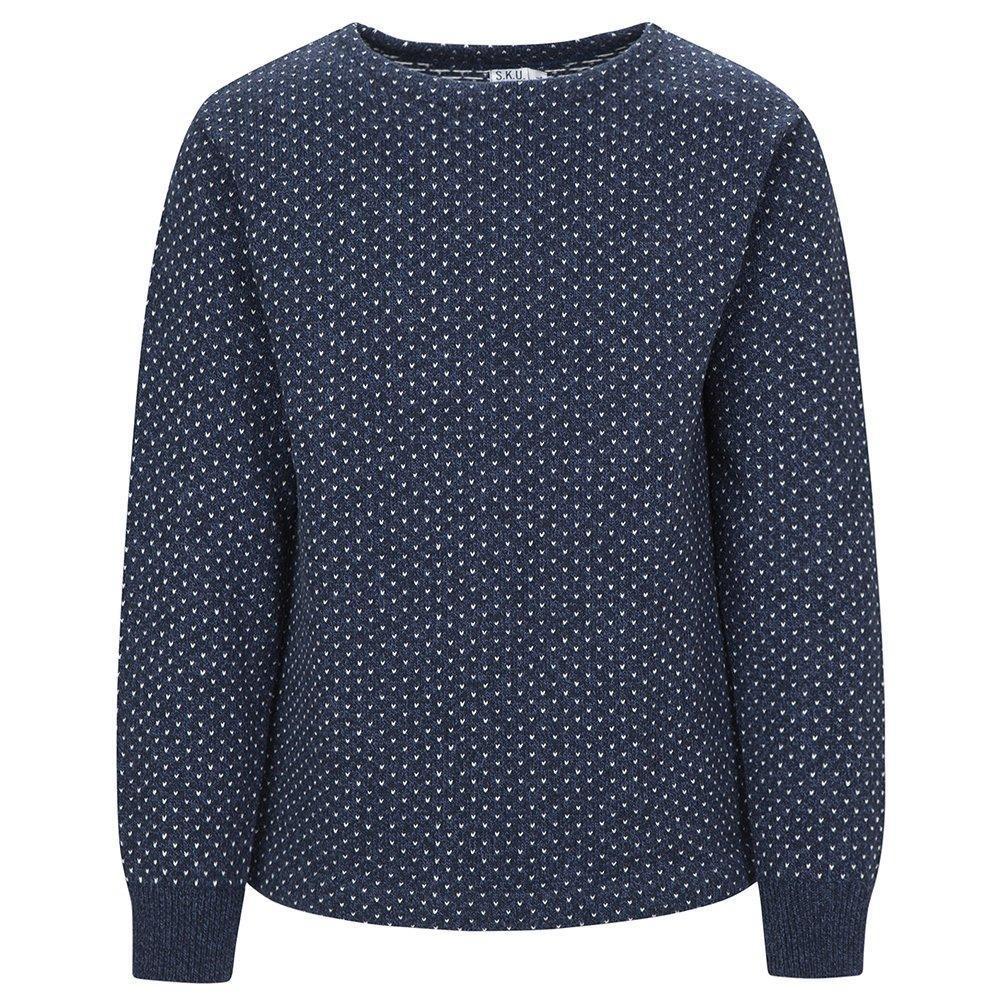 Save Khaki Men's Ragg Sweater SK366 Navy Bird SZ S