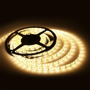 Ustellar Flexible Led Strip Lights Waterproof, 300 Units SMD 2835 LEDs, 3000K LED Light Strips 12V, Led Ribbon, 16.4ft/5m Lighting Strips, A Power Adapter is Required But Not Included (Warm White)