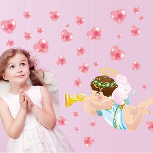 Cupid Wall Stickers Children Room Home Decor Baby Adhesive for Kids Room