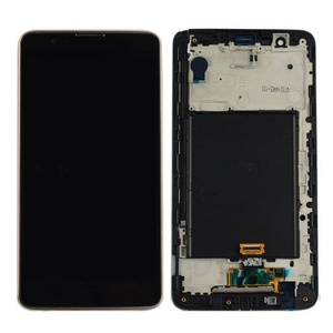 New LG G Stylus 2 LS775 Touch Screen Digitizer+LCD Display Assembly Gold Frame