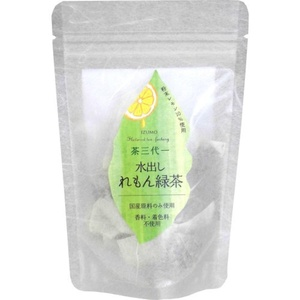 Tea three generations one water out lemon green tea bags 5gx6p by Tea three generations one