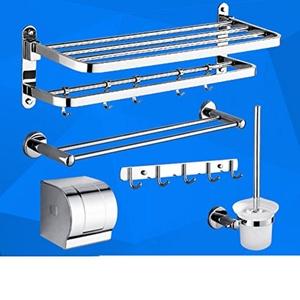 Stainless steel Towel rack/ folding Towel rack/Racks/Bathroom Bathroom accessories set-M