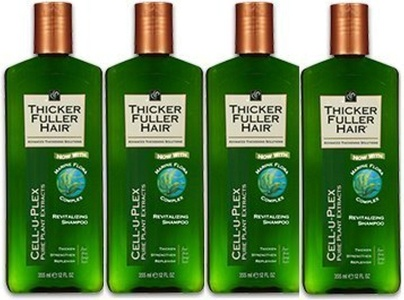 Thicker Fuller Shampoo Pack of 4 by Thicker Fuller