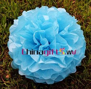 Tissue Paper Pom Lantern Flowers Wedding Party Decoration 6