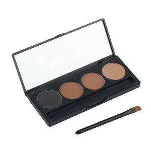 Pure Vie Professional 4 Colors Eyebrow Powder Palette Makeup Contouring Kit for Salon and Daily Use