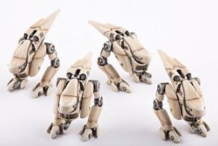 Dropzone Commander PHR Janus Scout Walkers (4 Figures) by Dropzone Commander