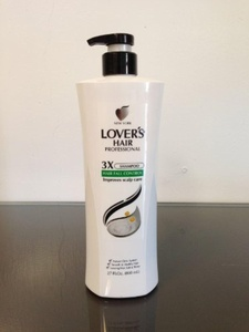 Lover's Hair Professional Anti Hair Loss 3X Shampoo Improve Scalp Care by LOVER'S HAIR PROFESSIONAL