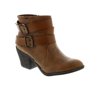 Blowfish Sworn - Coffee Saddle Pisa (Brown) Womens Boots