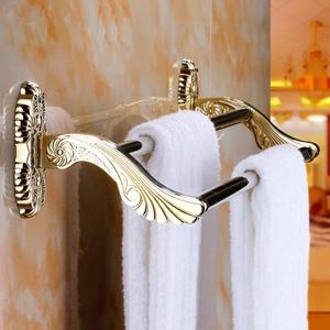 Bathroom accessories/Stainless steel racks/[Towel rack]/ Golden Towel rack/European-style bathroom accessories set-C