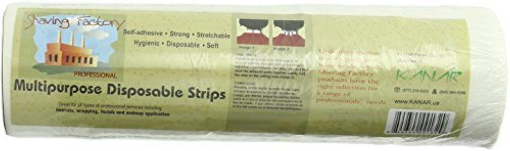 Shaving Factory Disposable and Elastic Hygienic Barber Neck Strip/ Paper/ Tissue/ Collar/ Tape/ Ruffle by Shaving Factory