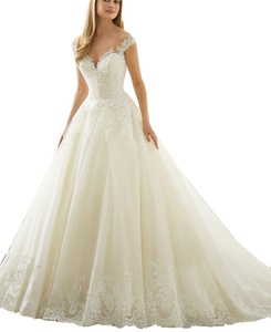 Aegeanbridal Sweetheart Off Shoulder Lace Ball Gown Wedding Dresses 2017 Bridal Gowns White US 24plus