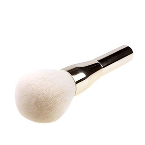 Tinabless Aluminum Makeup Synthetic Blusher Brush Professional Make Up Large Face Powder Brushes by Tinabless