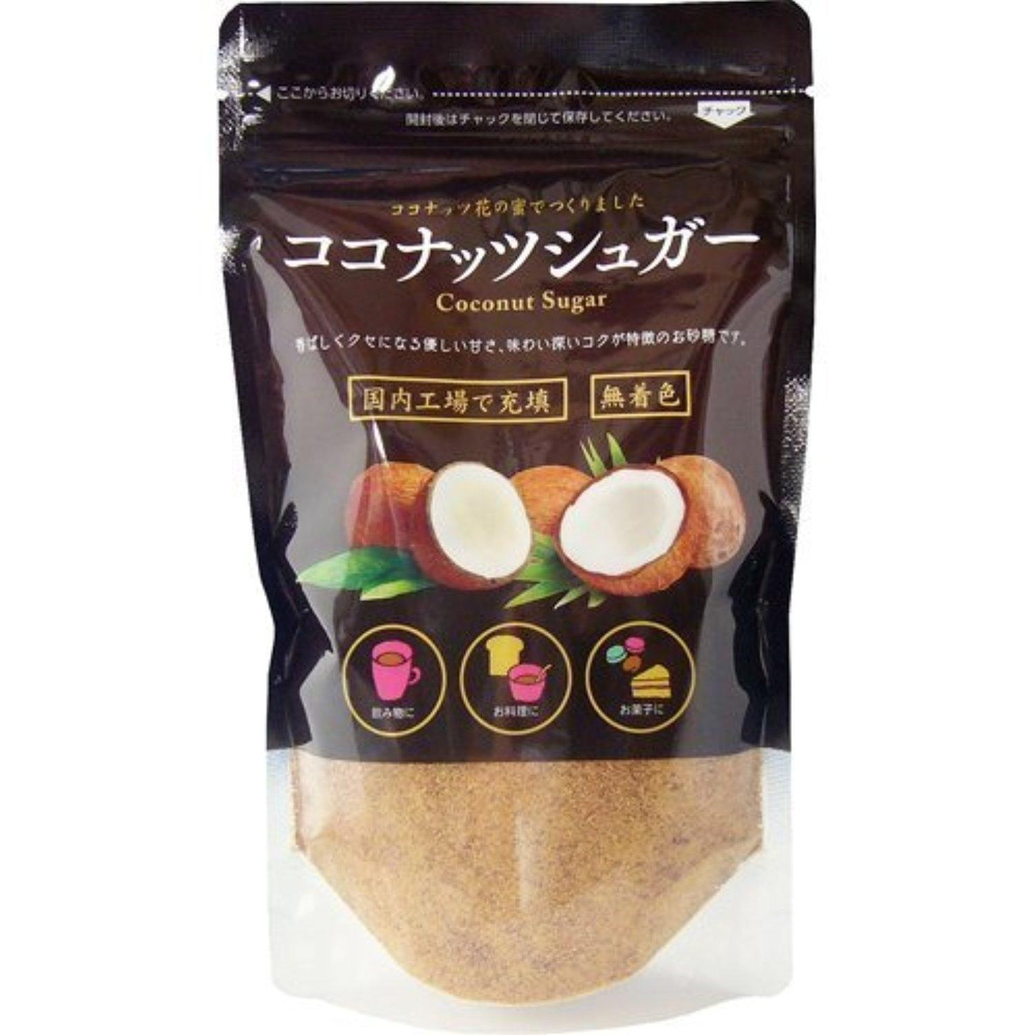 Coconut sugar 200g by Filled with coconut sugar domestic plants