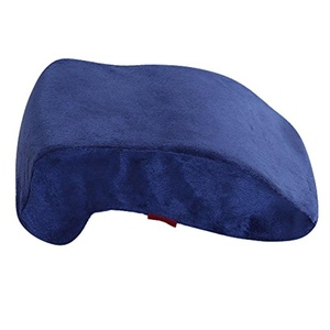 Catching a Quick 15-Minute Power Nap - Memory Foam Slow Rebound Pillow Travel Office Napping Pillow - Neck Support - Nap Pillow - Head Pillow - Perfect for Your Office Desk and Chairs