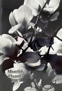2017 Monthly Planner Appointment Book, 5-1/2 x 7