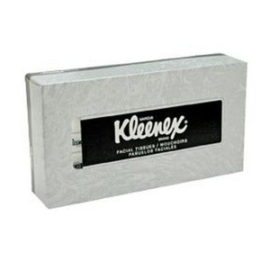 Kimberly-Clark Kleenex Facial Tissue in Pop-Up Box, White, 125 Tissues per Box (21606) by Kleenex