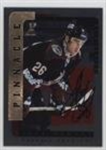 Jeff Finley (Hockey Card) 1996-97 Pinnacle Be A Player - [Base] - Silver Autograph [Autographed] #156