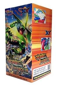 POKEMON CARD XY Emerald brake Booster Box / Korean Ver / 30 Booster Pack by pokemon card
