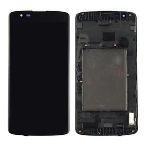 NEW LG K8 K350N K350E K350DS LCD Display+Touch Digitizer Glass Assembly Frame