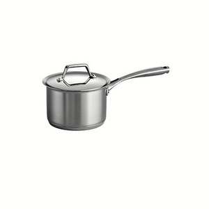 Tramontina Gourmet Prima 18/10 Stainless Steel Tri-Ply Base Covered Sauce Pan, 2-Quart by Tramontina