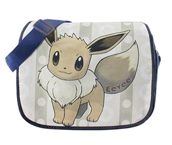 Anime Pokemon Pikachu Shoulder School Bag Messenger Bag