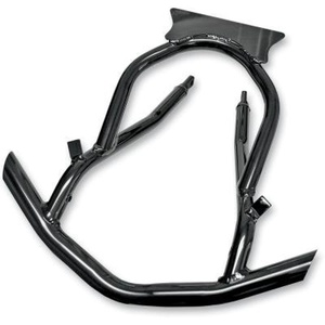 Skinz Protective Gear Front Aluminum Bumper - Powder Coated Black PFB100-BK by Skinz Protective Gear