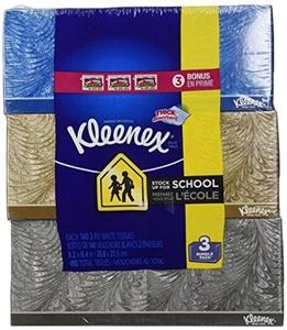 Kleenex Facial Tissue 3 pack by Kleenex