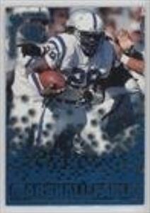 Marshall Faulk (Football Card) 1995 Pacific Triple Folders - Rookies & Stars - Blue #RS-16