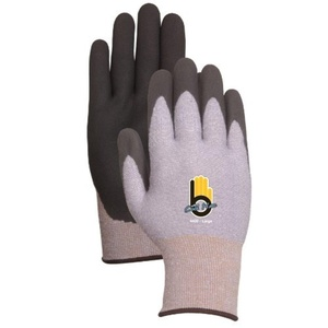 Atlas Glove Medium Gray Thermal Knit Gloves WIth Rubber Palm C4400M by Atlas Glove