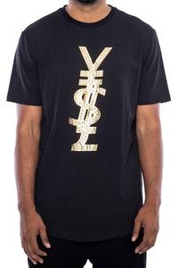 Hudson Outerwear Foreign Money T-Shirt (4XL, Black)