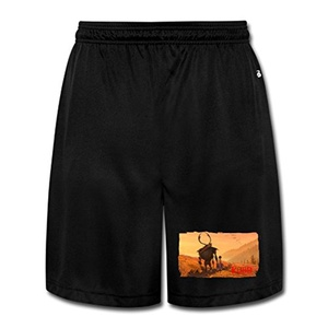 DW Athletic Men's Kubo And The Two Strings Mesh Shorts With Pockets - Large
