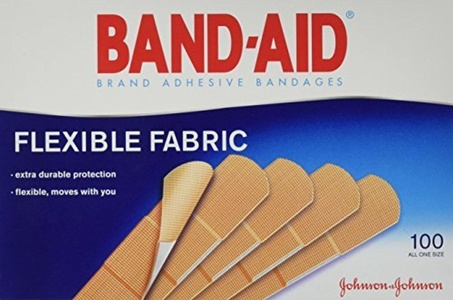 Band-Aid Flexible Fabric Premium Adhesive Bandages 3/4 X 3 100/Box (Pack Of 2) by Band-Aid