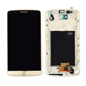 NEW Gold LG G3 D850 D851 D855 VS985 LS990 LCD Screen +Digitizer Touch W/Frame