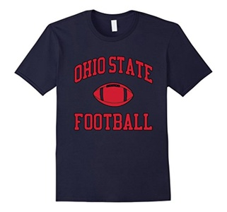 Men's Ohio State Football T-Shirt XL Navy