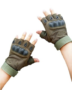 Floor Mens Military Fingerless Tactical Gloves Hard Knuckle Half Finger Military Gear Gloves Cycling Gloves