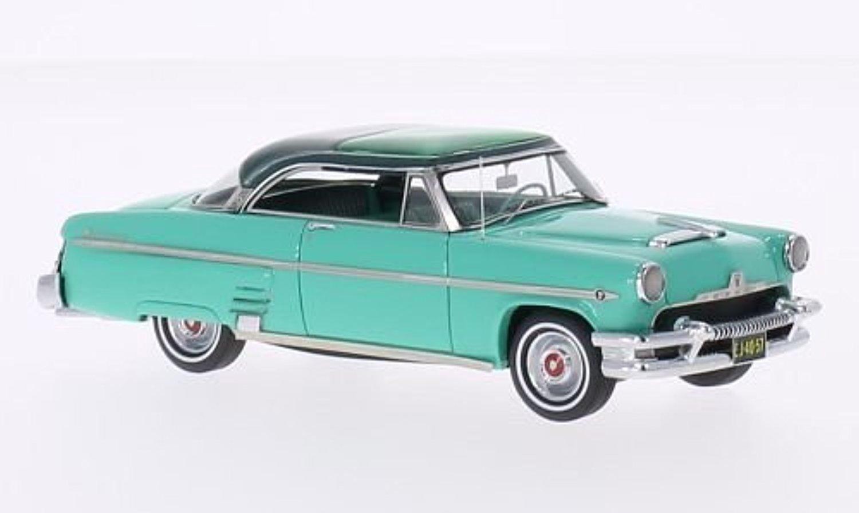 Online Store Mercury Monterrey Sun Valley Turquoise Metallic Dark 1954 Ford Crown Victoria Green Model Car