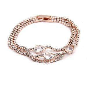 Bracelets,UPLOTER Lady Bracelet Exquisite Fashion Temperament Water Droplets
