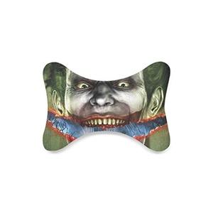Custom Travel Car Seat Neck Pillow Heath Ledger The Joker Bone Shape Neck Rest Cushion (Only One)