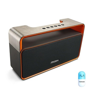 Portable Wireless Bluetooth Speaker FM Radio MP3 Player,10W Powerful Audio Driver, Hands-Free Calling Built-In Mic, Micro TF SD Card, USB Input,10 Play Hour 2209mAh Battery, AUX Line-In,