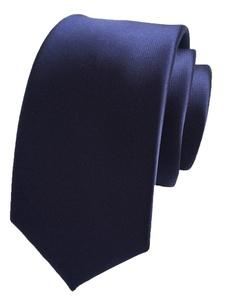 TRENDY XU Solid Men Slim Necktie Formal Shirt/Suit Business/Wedding Neckwear Ties (Blue)