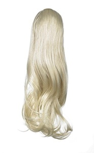 Love Hair Extensions India Drawstring Synthetic Hair Ponytail Colour 24 Sunlight Blonde 16 -Inch by Love Hair Extensions