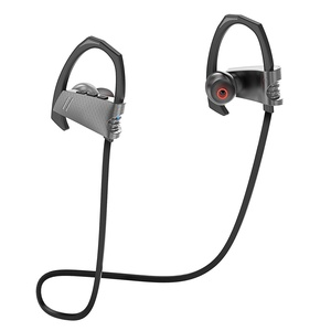 Cloele Wireless Bluetooth Sport Headphones Stable Fit In Ear Earbuds Noise Cancelling Stereo Earphones 7-Hour Working Time with Mic Sweatproof Ear-Hook Headset for Running Workout Gym