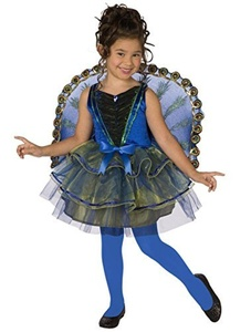 Other Manufacturers girls Big Girls' Peacock Costume Medium (8-10) by Other Manufacturers