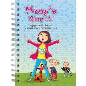 2017 Mom's Plan-It Weekly Engagement Planner