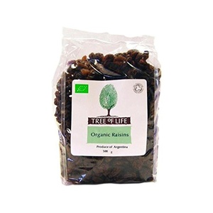 Tree of Life Organic Raisins 500g - Pack of 2