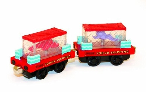 Take Along - Sea Cargo Cars by Tomy International