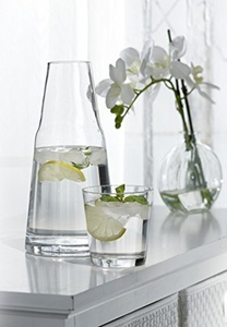 Style Setter Soho 2 Piece Water Set, Clear by Style Setter