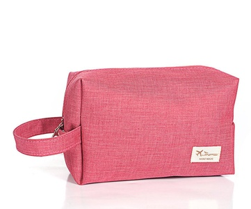ZOONAI Travel Toiletry Storage Makeup Bag Portable Cosmetics Pouch Carry Case